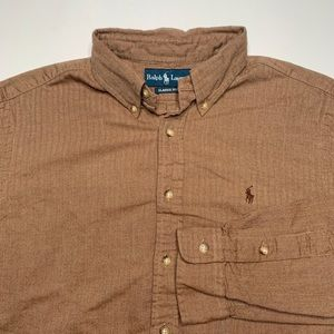 Polo Ralph Lauren Buttonfront Shirt Brown